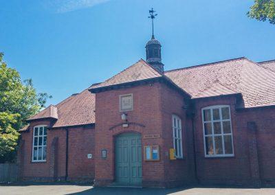 Exterior of Dumbleton Village Hall