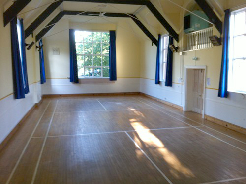 The Main Hall at Dumbleton Village Hall