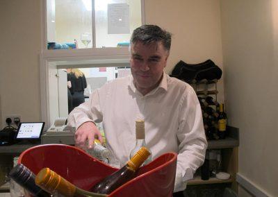 Bar service at Dumbleton Village Hall