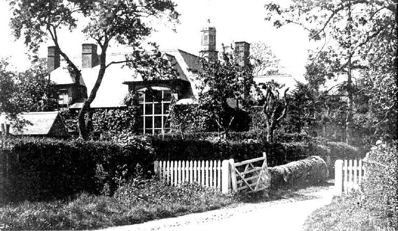 Dumbleton Village Hall from the early 20th century